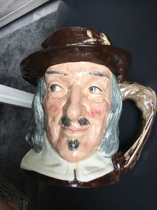 Royal Doulton character pitcher - Izaak Walton