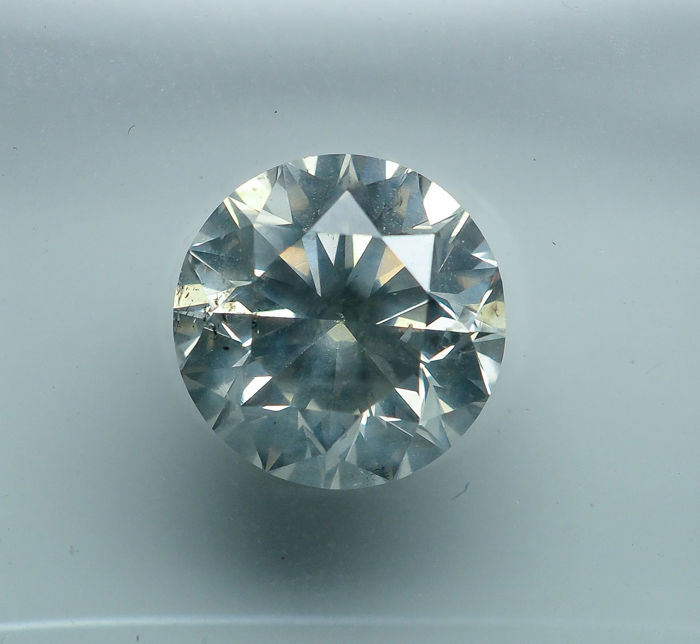 1.50 ct - Natural White Diamond - H Color - SI2