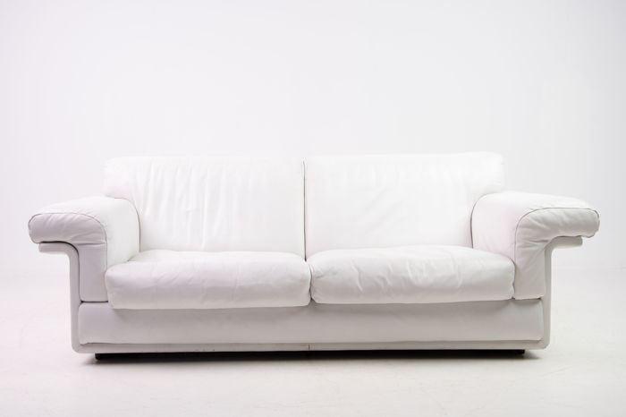 De Sede White Leather Two Seater Sofa Catawiki