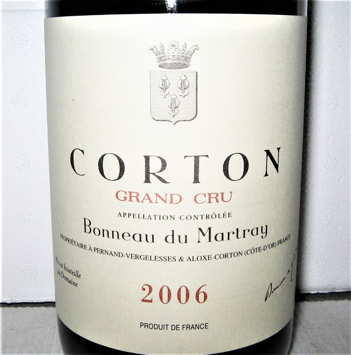 2006 Corton - Domaine Bonneau du Martray - Bourgondië Grand Cru - 1 Fles (0.75L)