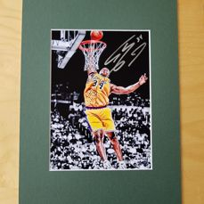 Shaquille O'Neil- Basketbal Legend Dream team 1996 -  hand signed photo in professional passepartout + COA