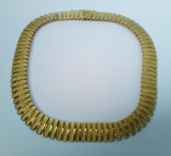 Ladies' necklace in gold 18k (750)