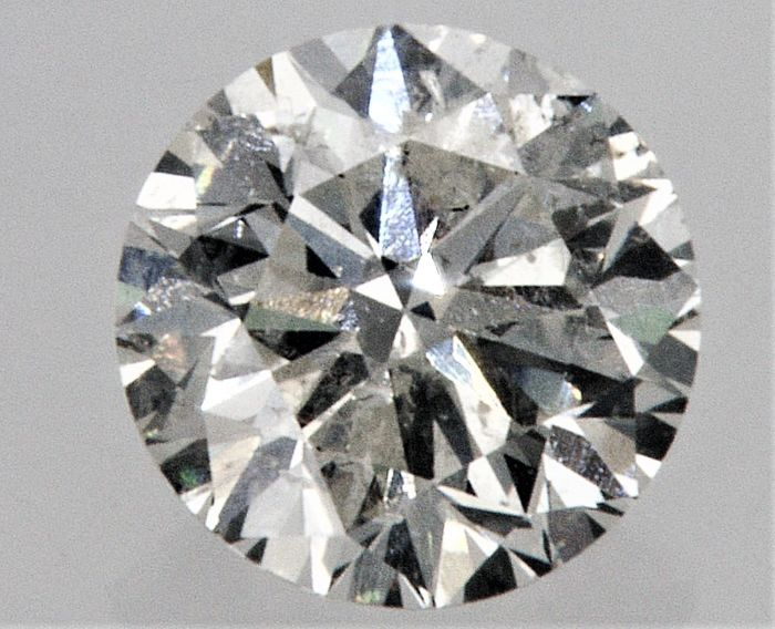 Round Brilliant Cut  - 0.73 carat  - F color  - SI1 clarity  - Natural Diamond  Comes With AIG Certificate + Laser Inscription On Girdle