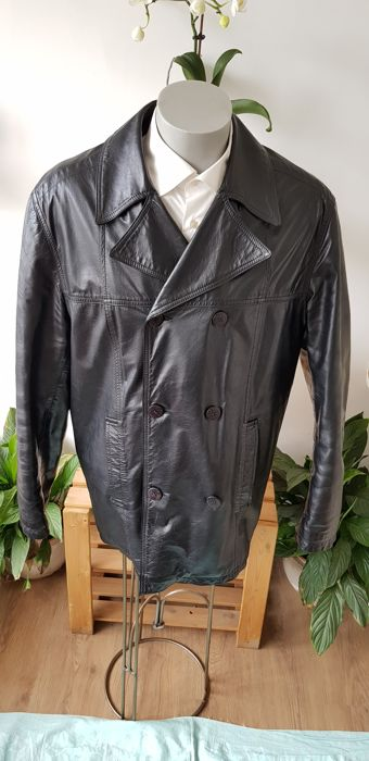 bbbefd19a Versace Jeans Couture - Leather jacket - Catawiki