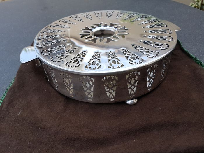 large hot plate / tealight from 1885, Christofle
