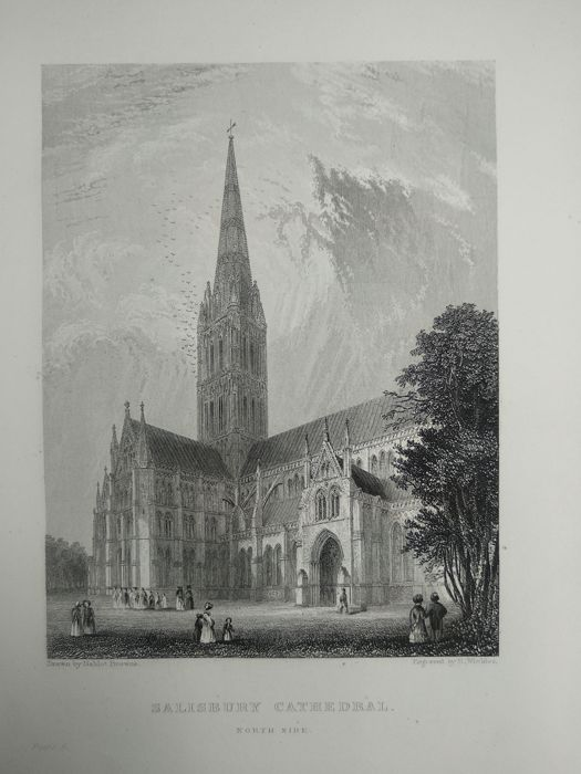 Winkle - Architectural and picturesque illustrations of the cathedral churches of England and Wales - 1837/1842