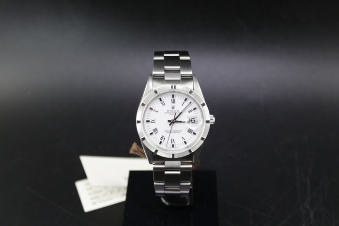 Rolex - Oyster Perpetual Date -  Box and papers - 15210 - Unisex - 1990-1999
