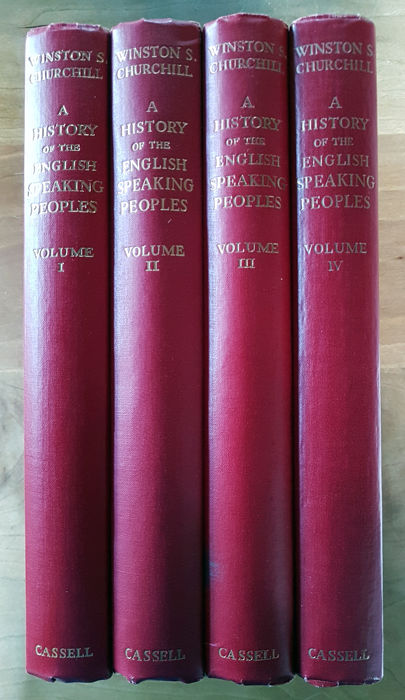 HISTORY OF THE ENGLISH SPEAKING PEOPLES : VOLUME 5.