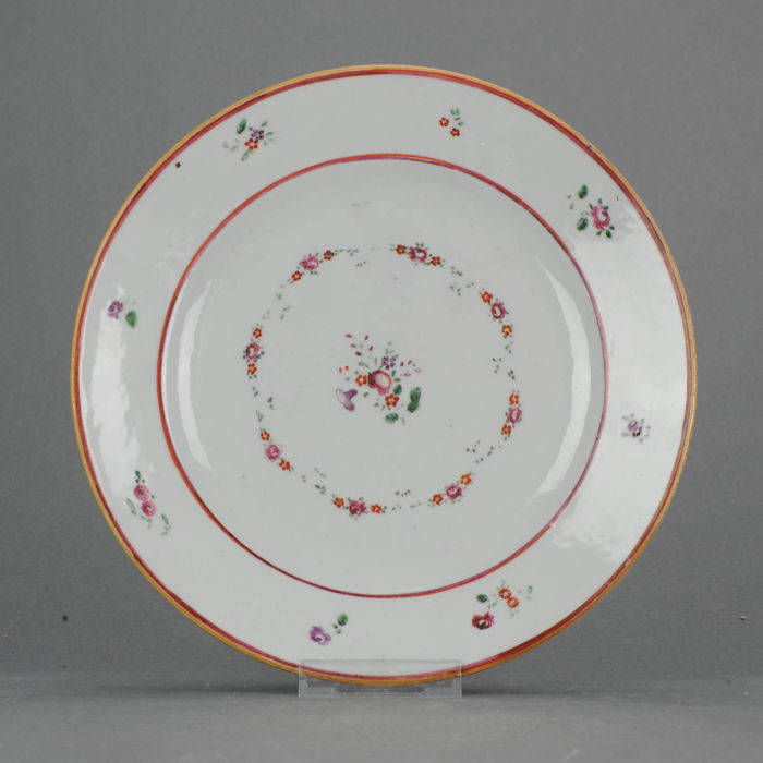 PERFECT CONDITION Lovely Famille Rose Serving Plate - China - 18c