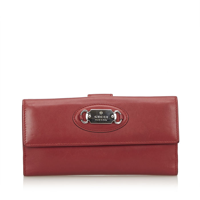 Gucci - Leather Continental Wallet