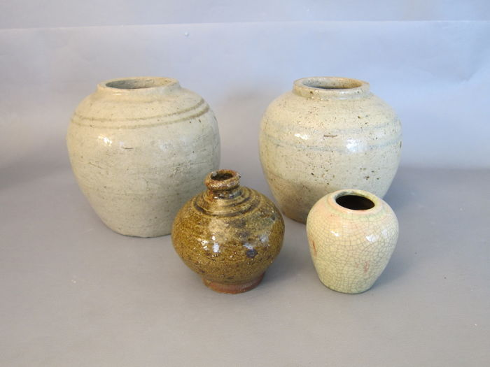 4 Antique Vases China 19th Century Catawiki