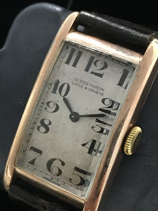 Ulysse Nardin - Art Deco 9K Solid Gold Mechanical  - Ref.634047 - Bărbați - 1901-1949