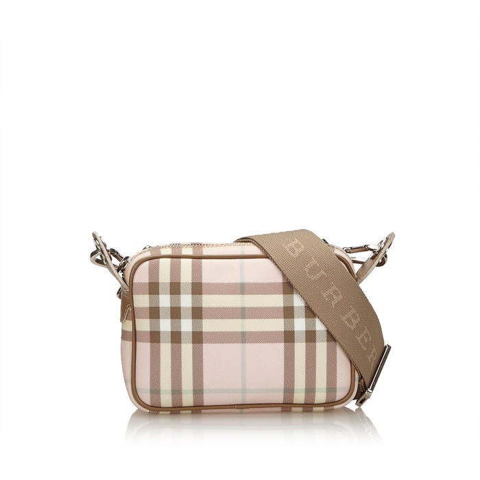 Burberry - Plaid Crossbody Bag
