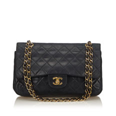 8107e8bfb Chanel - Classic Medium Leather Double Flap Bag