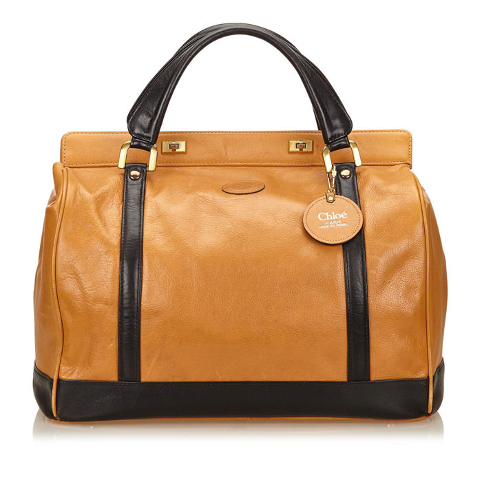 Chloe - Leather Duffel Bag
