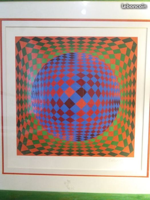 victor vasarely - sphere
