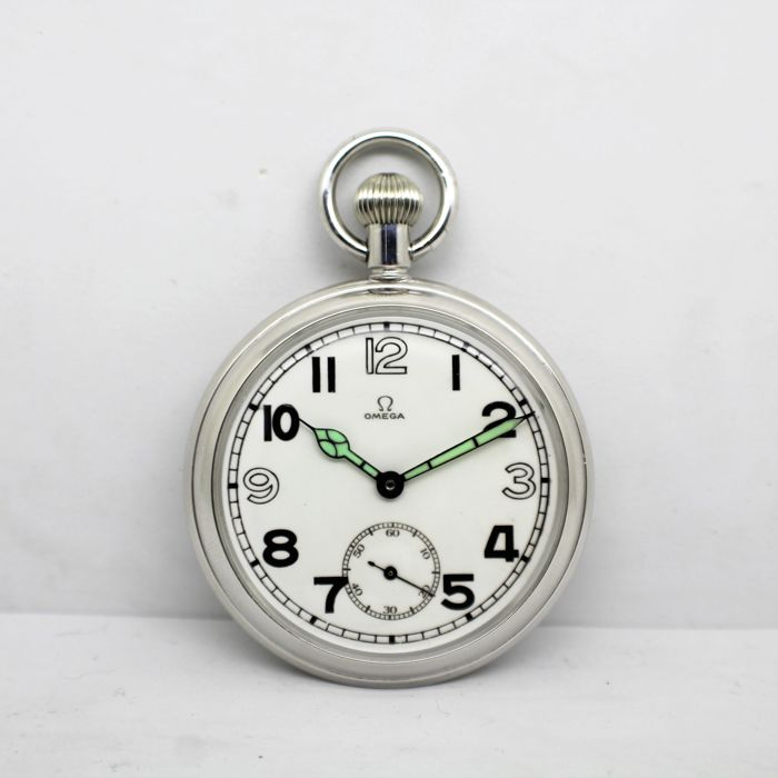 Omega - Pocket Watch British Military G.S.T.P F023069 - Men - Ano-1943 f96d443ec9