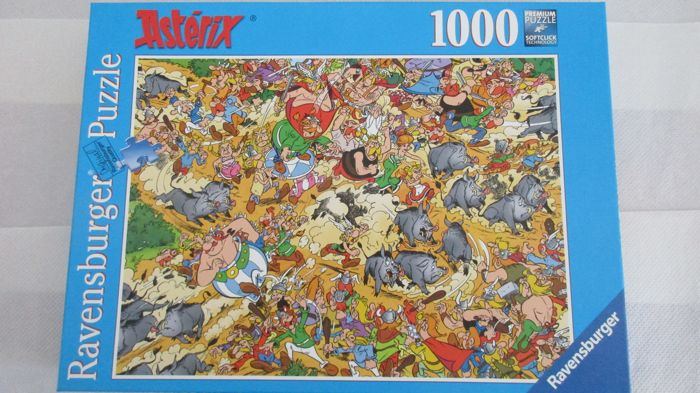 Asterix Diverse Items Oa Placemats Stickers Puzzel