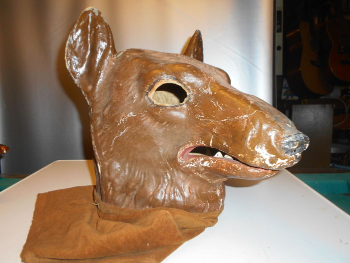 How to Make a Wolf Mask, Part 2 - YouTube | 525x700