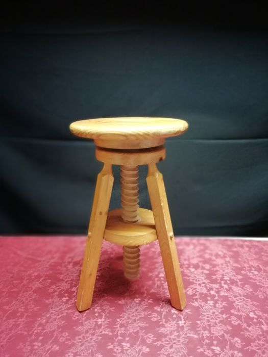 Fine Lot Of Vintage Wooden Industrial Potters Stools 1970S Pdpeps Interior Chair Design Pdpepsorg
