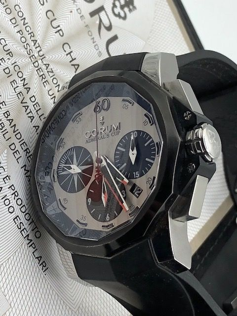 Corum - Admiral's Cup Challenge 44 - Limited 032/100 - Cal:684478 - Men - 2000-2010