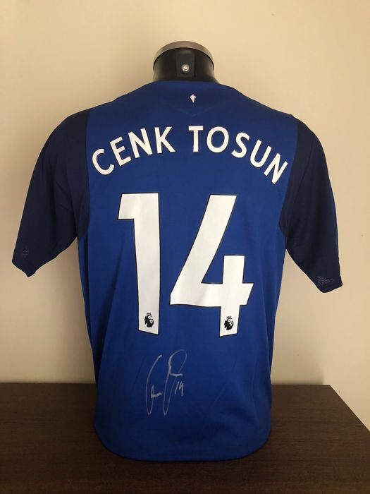 cheap for discount 2431b 15eb5 Cenk Tosun signed Everton Fc shirt 2017-2018with photo of the moment of  signing and COA - Catawiki