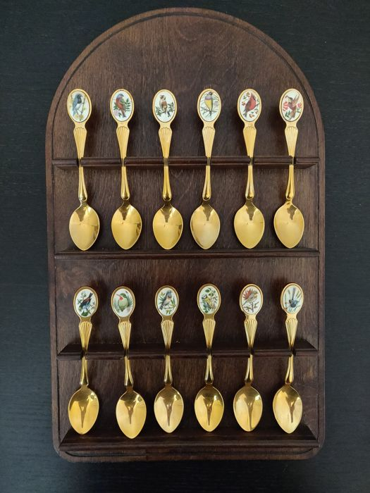 Franklin Mint - The birds of the world - Spoon set