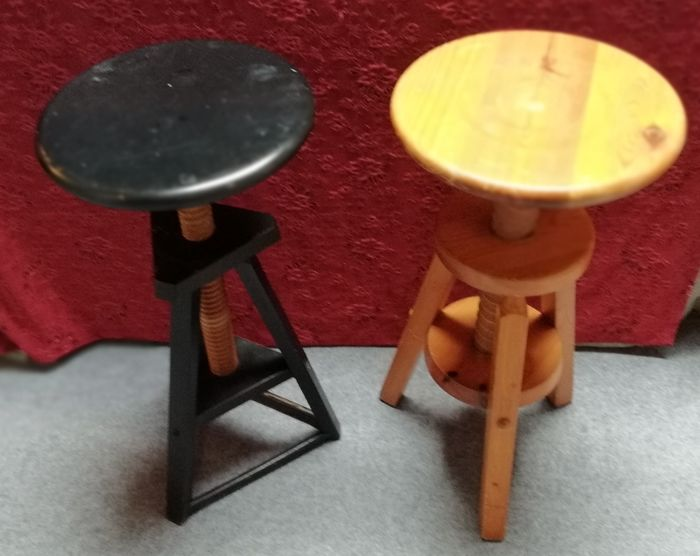 Fantastic Lot Of Vintage Wooden Industrial Potters Stools 1970S Pdpeps Interior Chair Design Pdpepsorg