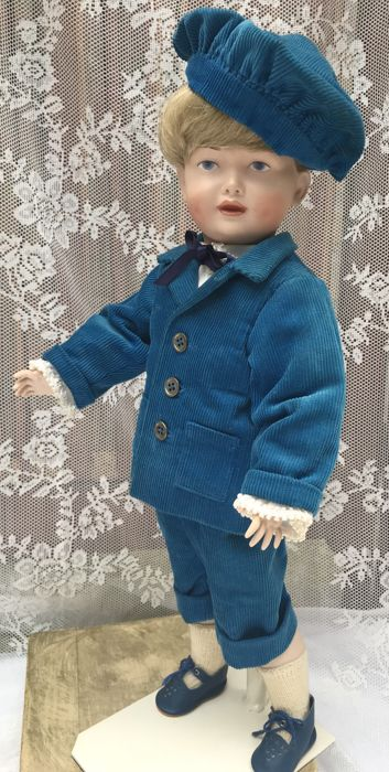 Special Kestner character doll with closed mouth as a sailor