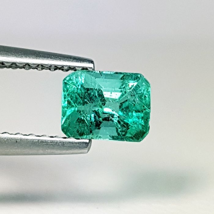 0.72 ct. - Natural Emerald - No Reserve