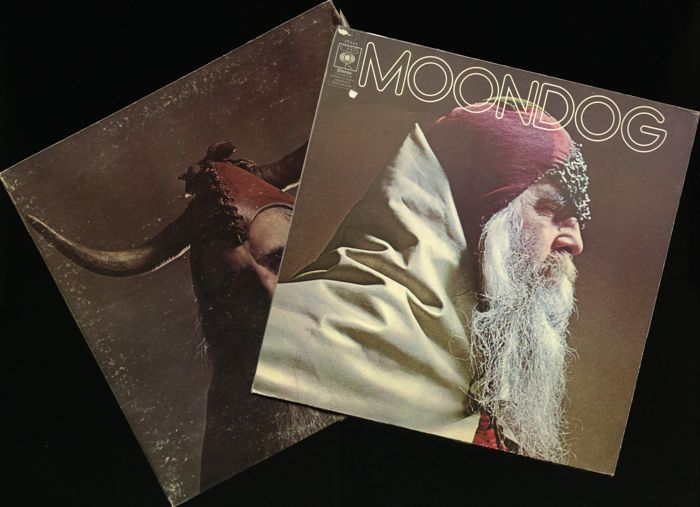Lot of two original Moondog albums (UK and US release