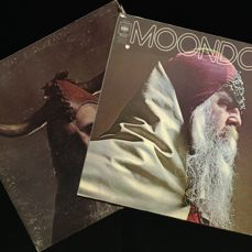 Lot of two original Moondog albums (UK and US release)