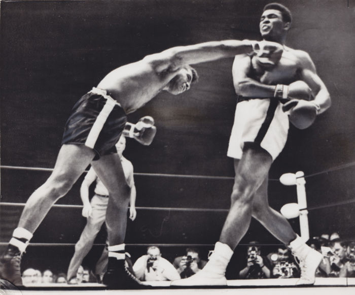 Unknown/UPI - Muhammad Ali vs. Floyd Patterson, 1965