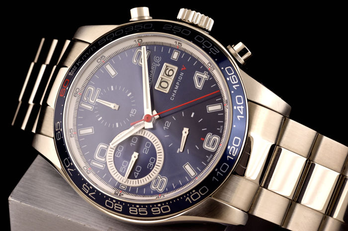 Eberhard & Co. - Champion V Grande Date Automatic Chronograph - 31064 - Heren - 1990-1999