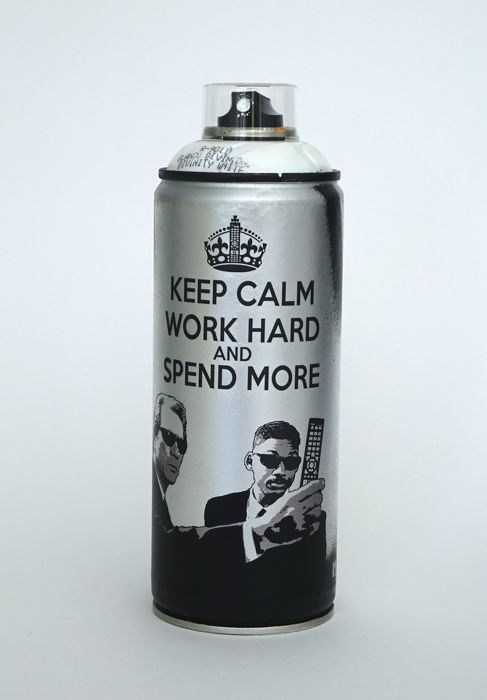Truteau - Keep Calm Work Hard And Spend More