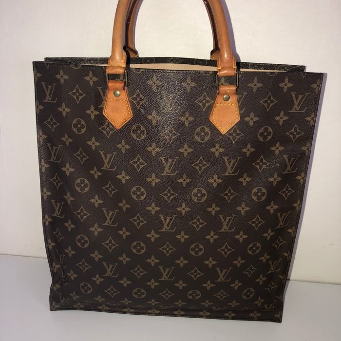 60ed1d71f7ee Louis Vuitton - Sac Plat Monogram Shopper   handbag - Catawiki