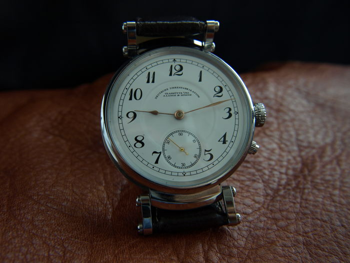 A. Lange & Söhne - Glaschutte I /SA DUF marriage watch                         - 51298 - Heren - 1901-1949
