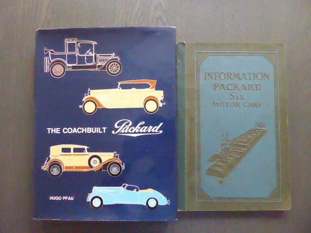 Boeken - Lot: The coach built Packard and Information       - 1927-1975 (2 items)