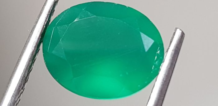 Green Agate - 2.78 ct - No Reserve Price
