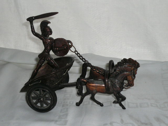 Chariot of the Greeks - bronze