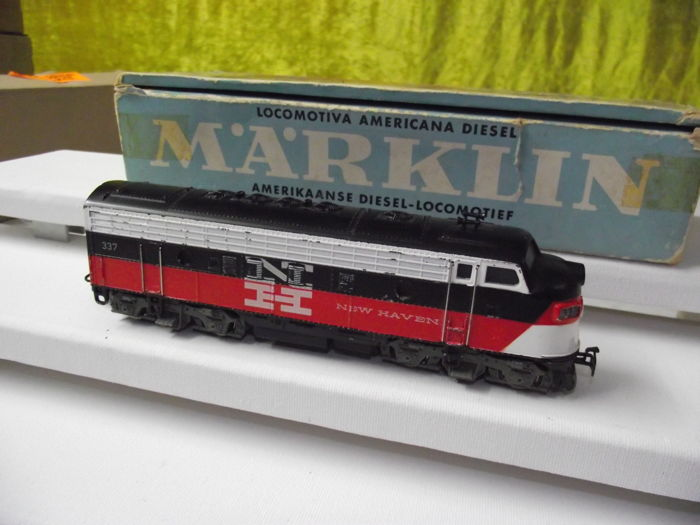 Märklin H0 - 3062 - Diesel locomotive - F-7-(387) - New Haven for sale
