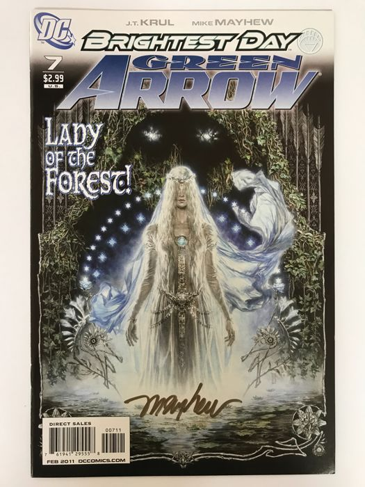 Green Arrow #7 - Signed by Mike Mayhew - Softcover - Eerste druk - (2011)