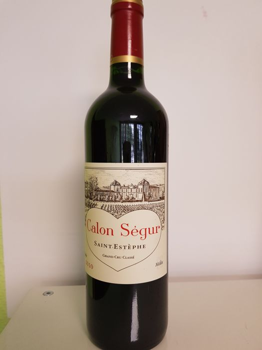 2010 Château Calon Ségur, Saint-Estèphe Grand Cru Classé - 1 bottle 75cl