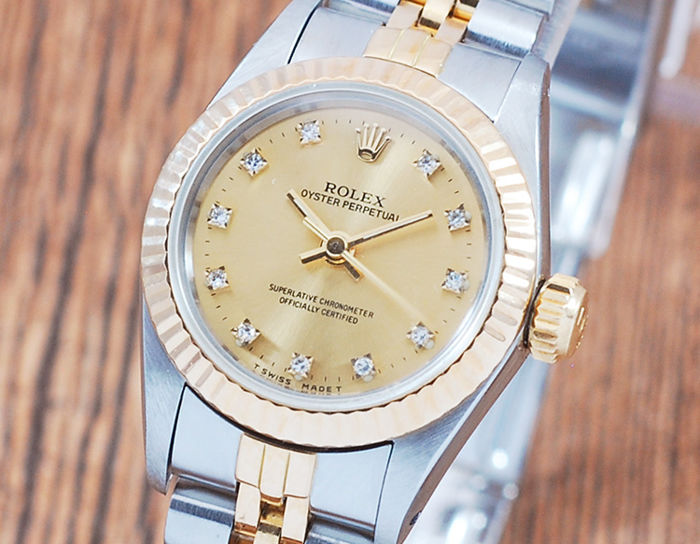 Rolex - Oyster Perpetual  - 67193 - Donna - 1980-1989