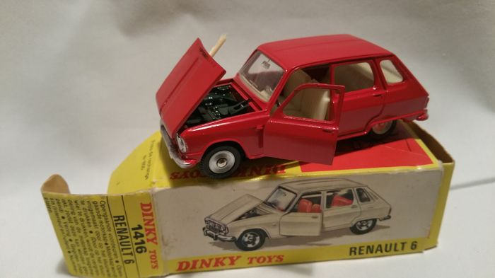 Dinky Toys - 1:43 - Renault 6 - # 1416