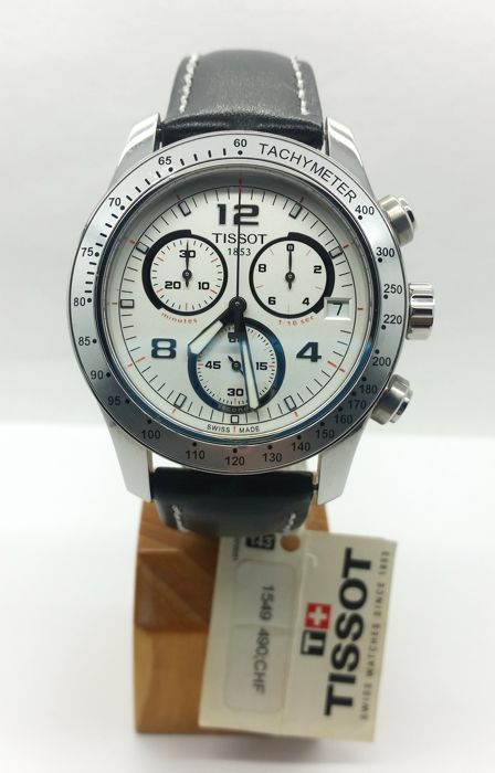 Tissot V8 Chronograph New Old Stock With Defects T039 417 16