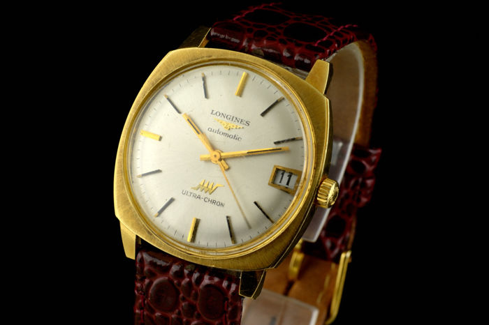 Longines - 18K Ultra Chron - Heren - 1970-1979