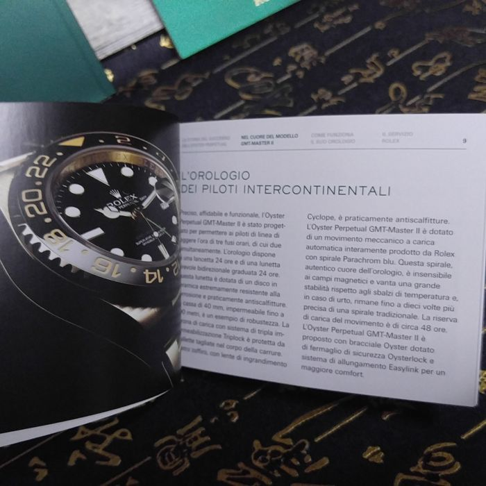 rolex instruction manual gmt master ii oyster 596 05 booklet catawiki rh auction catawiki com manual rolex gmt master ii español rolex oyster perpetual date gmt master ii manual