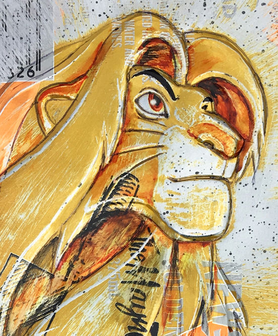 ComicART - Hand Signed PRINT by Chris Duncan - CAN-Art - THE LION KING - Other (2018)