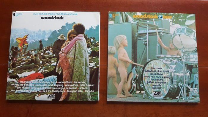 Various Artists/Bands in 1960's - Multiple artists - Woodstock I and
